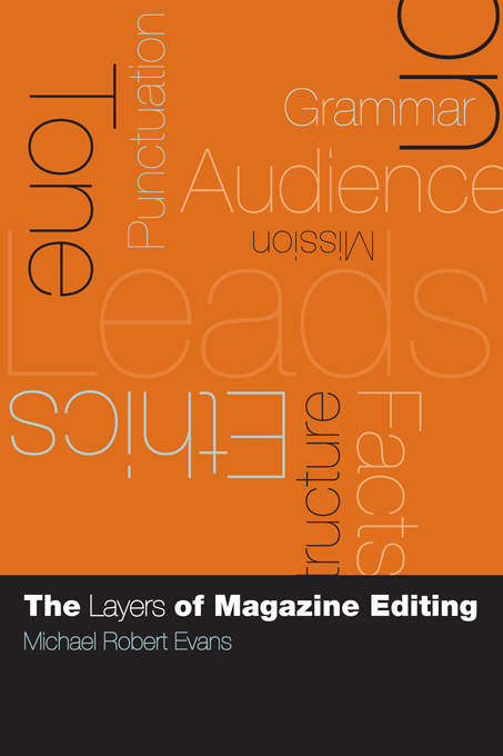 The Layers of Magazine Editing