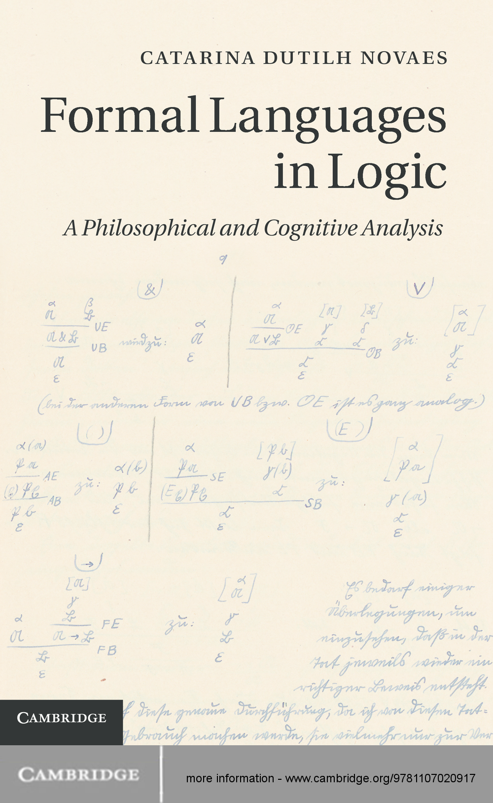 Formal Languages in Logic A Philosophical and Cognitive Analysis