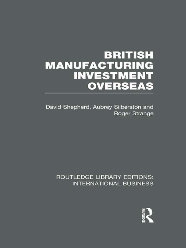 British Manufacturing Overseas