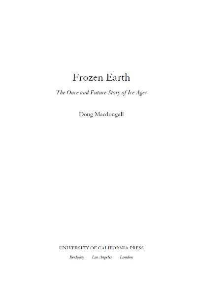 Frozen Earth By: Doug Macdougall