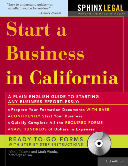 Start a Business in California