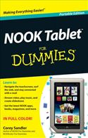 download NOOK Tablet For Dummies book