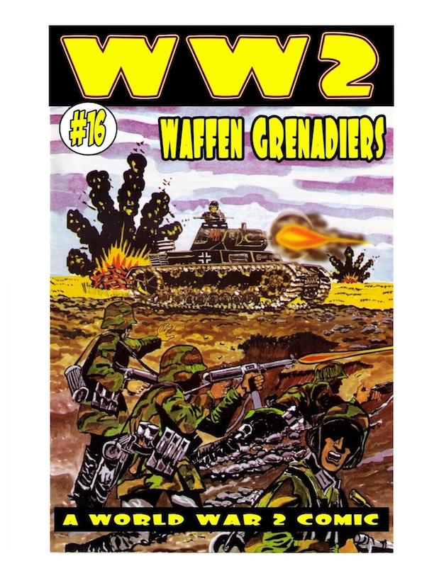 World War 2 Waffen Grenadiers