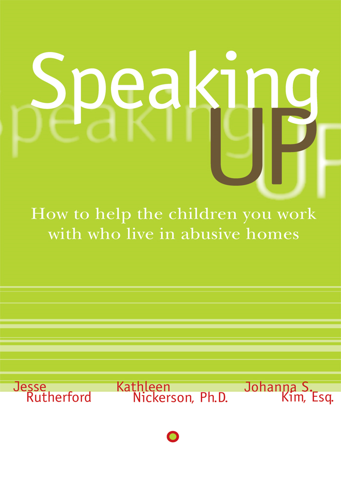 <b>Speaking Up</b>