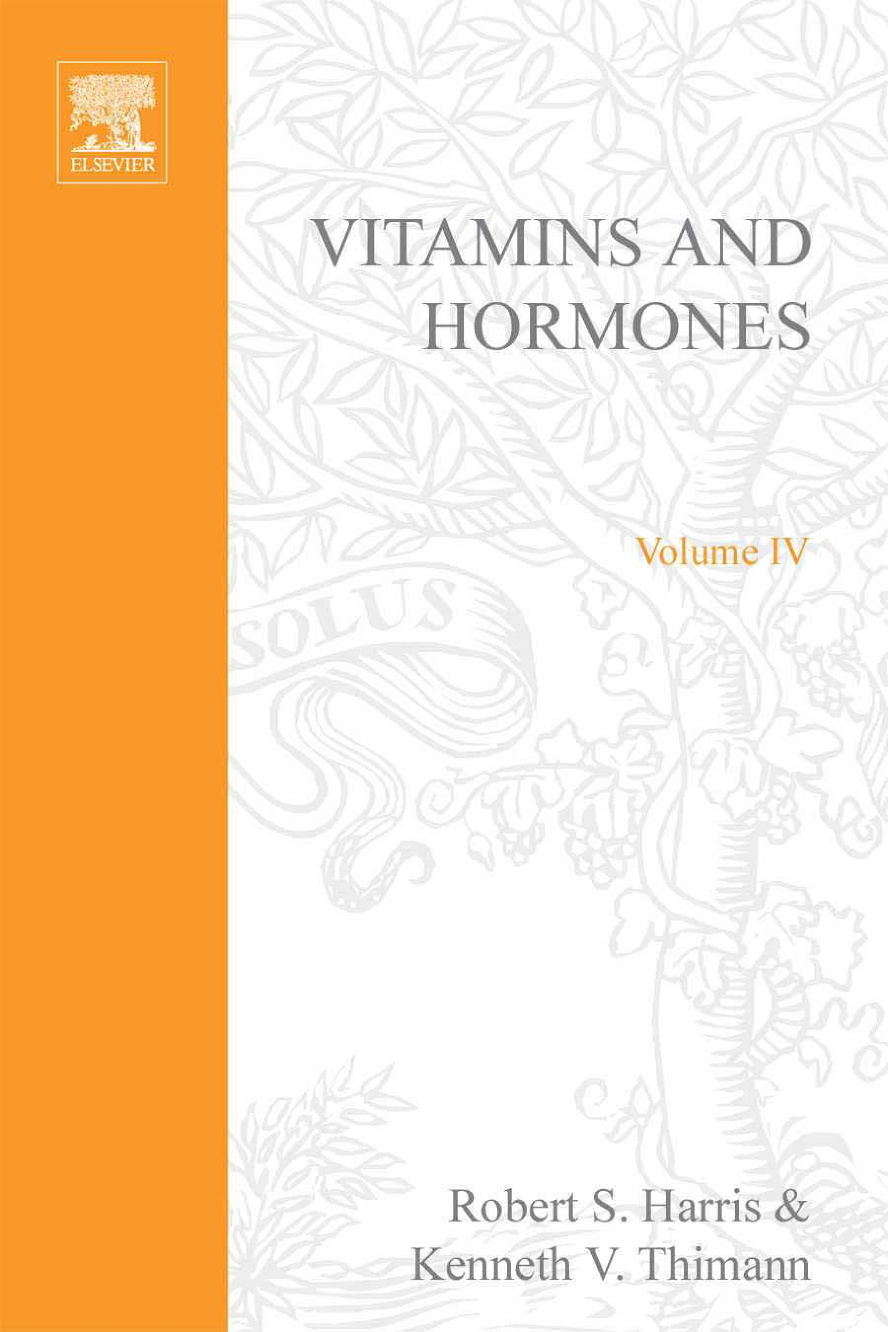 VITAMINS AND HORMONES V4