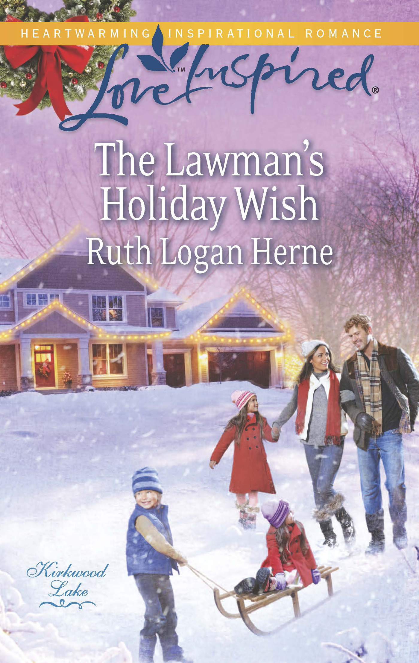 The Lawman's Holiday Wish (Mills & Boon Love Inspired) (Kirkwood Lake - Book 3)