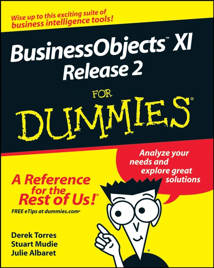 BusinessObjects XI Release 2 For Dummies By: Derek Torres,Julie Albaret,Stuart Mudie