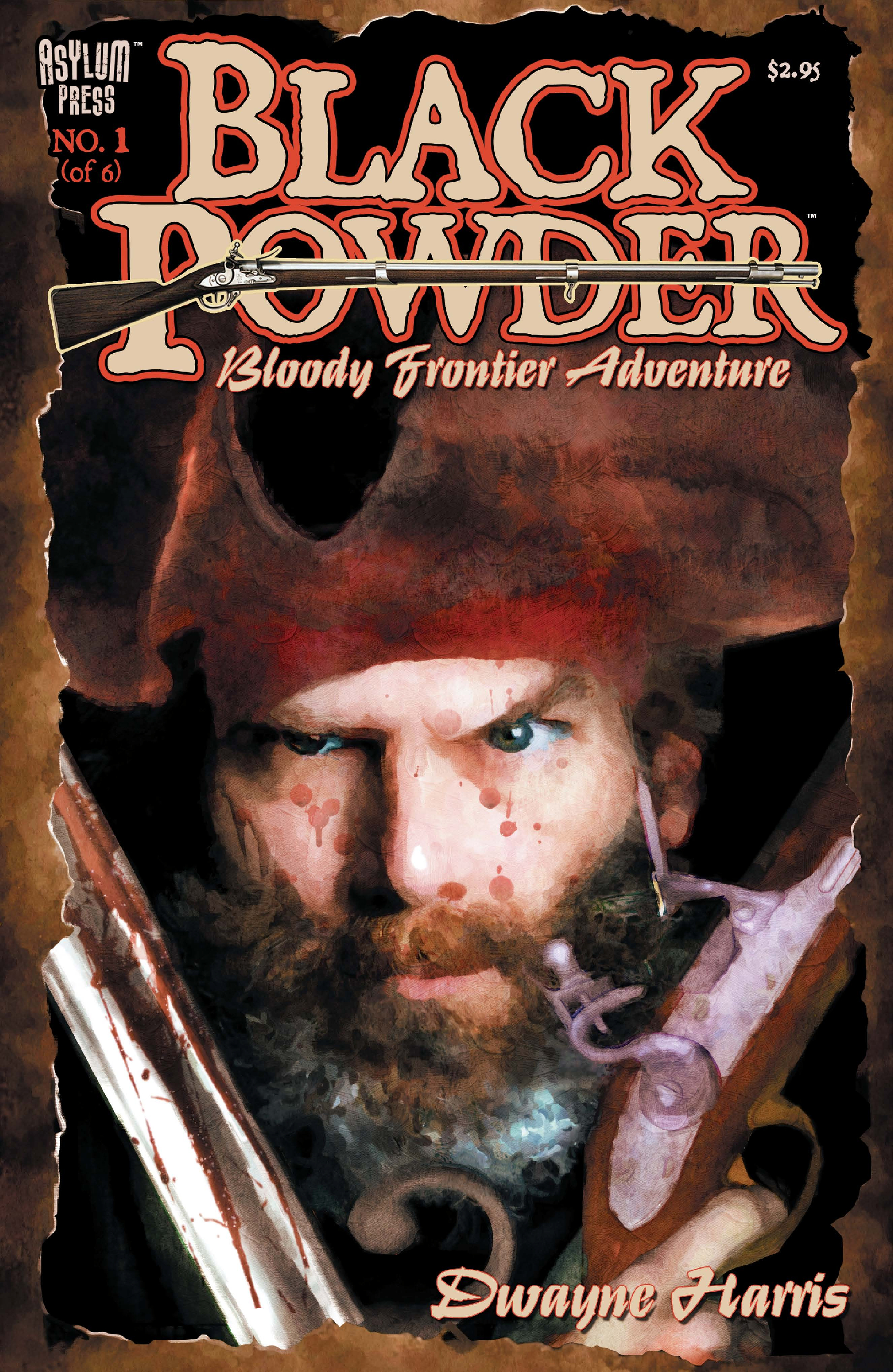 Black Powder #1 (of 6) By: Dwayne Harris