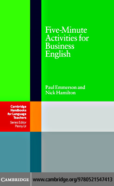 Five-Minute Activities for Business English By: Emmerson, Paul