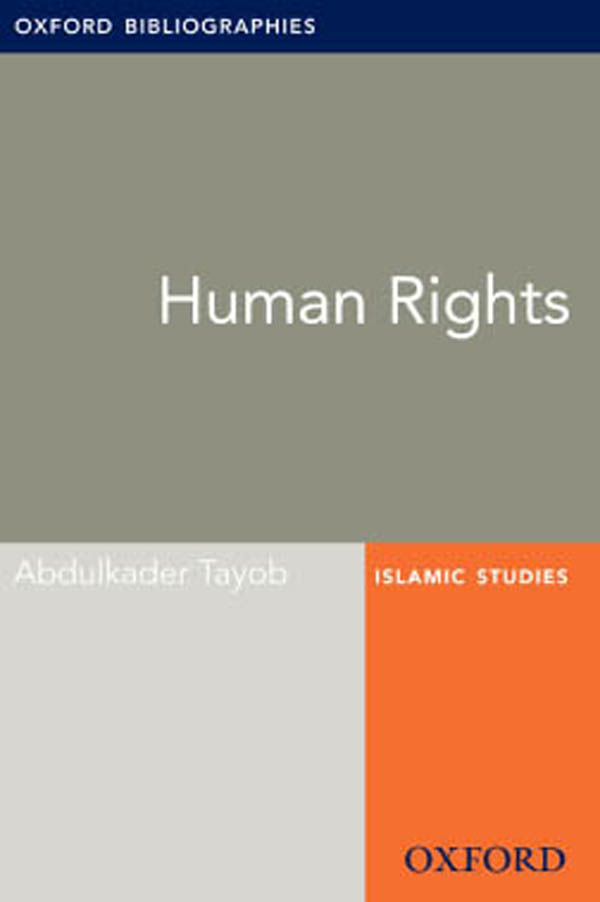 Human Rights: Oxford Bibliographies Online Research Guide
