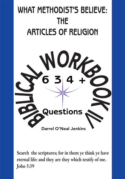 What Methodist's Believe: The Articles of Religion