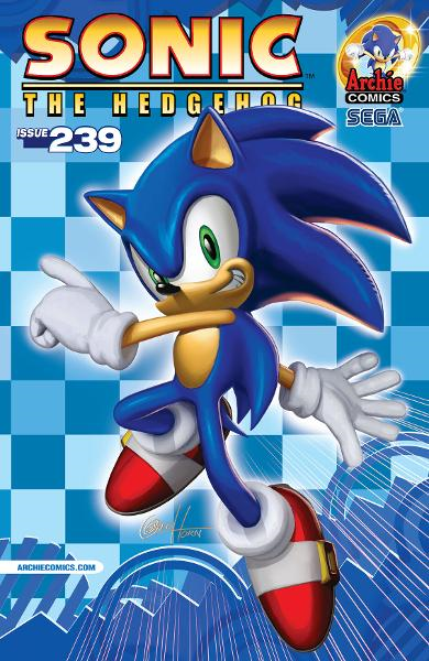 Sonic #239 By: Greg Horn,Ian Flynn,Jamal Peppers,John Workman,Matt Herms,Terry Austin