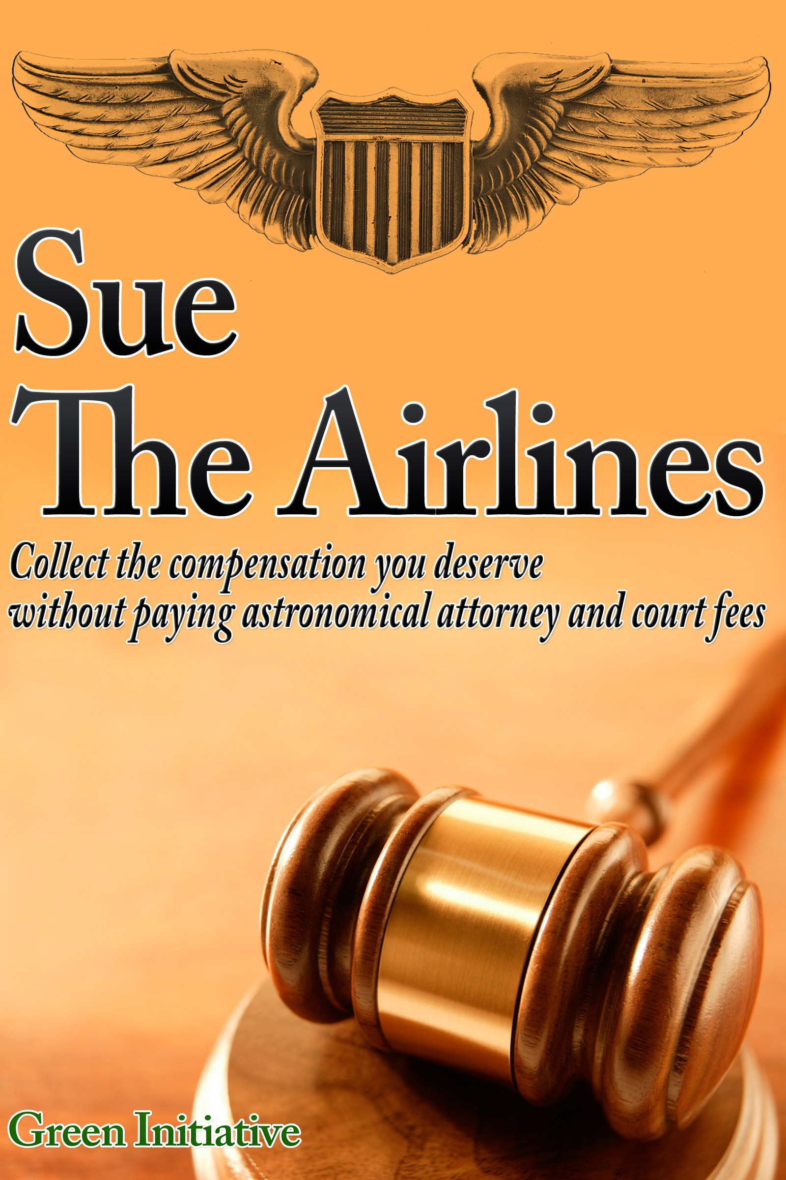 Sue the Airline: A Guide to Filing Airline Complaints. Collect the Compensation You Deserve Without Paying Astronomical Attorney & Court Fees By: Green Initiatives
