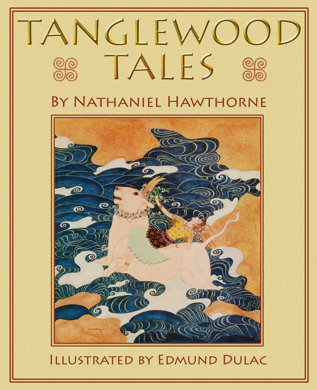 Tanglewood Tales: Greek Mythology for Children (Illustrated Edition)