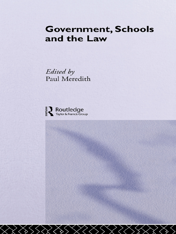 Government, Schools and the Law