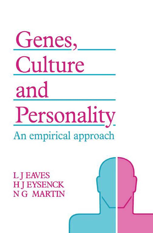 Genes,  Culture,  and Personality An Empirical Approach