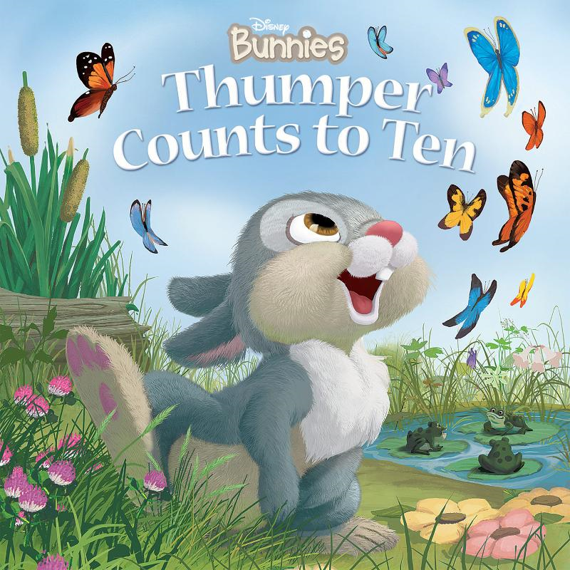 Disney Bunnies:  Thumper Counts to Ten