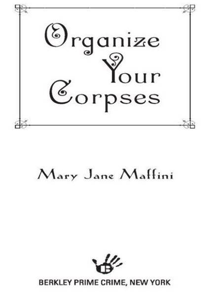 download organize your corpses book