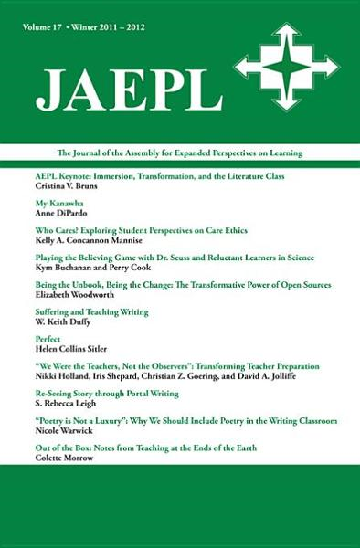 JAEPL: The Journal of the Assembly for Expanded Perspectives on Learning Vol 17 By: Trapp, Joona Smitherman