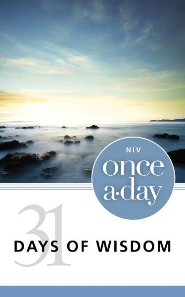 NIV Once-A-Day 31 Days of Wisdom By: Zondervan