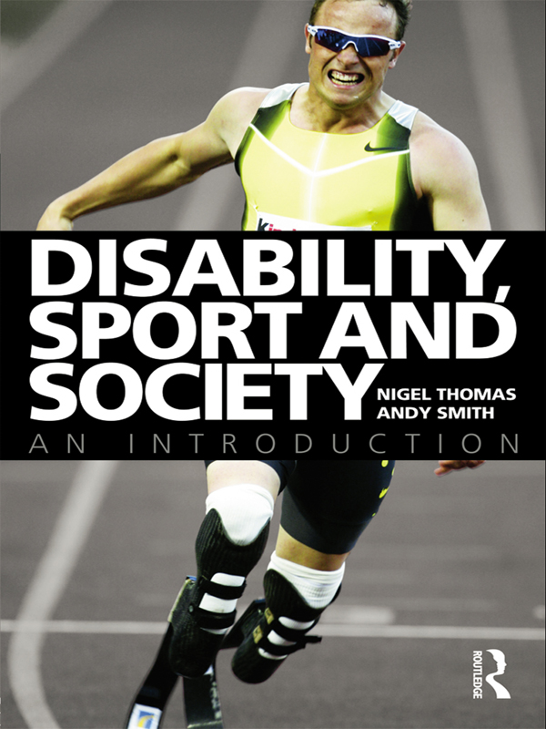 Disability Sport: Policy and Society