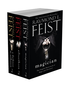 The Complete Riftwar Saga Trilogy: Magician, Silverthorn, A Darkness at Sethanon