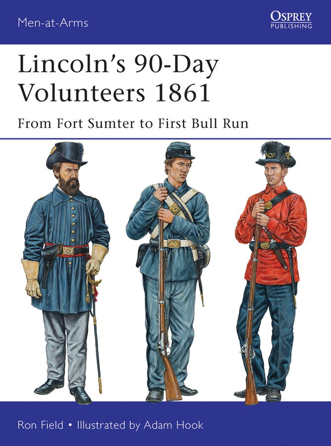 Book Cover: Lincoln's 90-Day Volunteers 1861