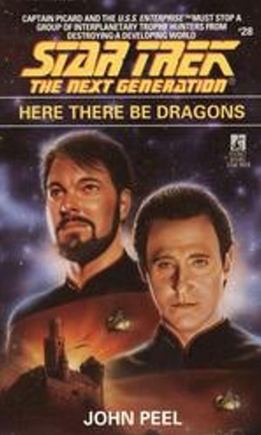 Here There Be Dragons By: John Peel