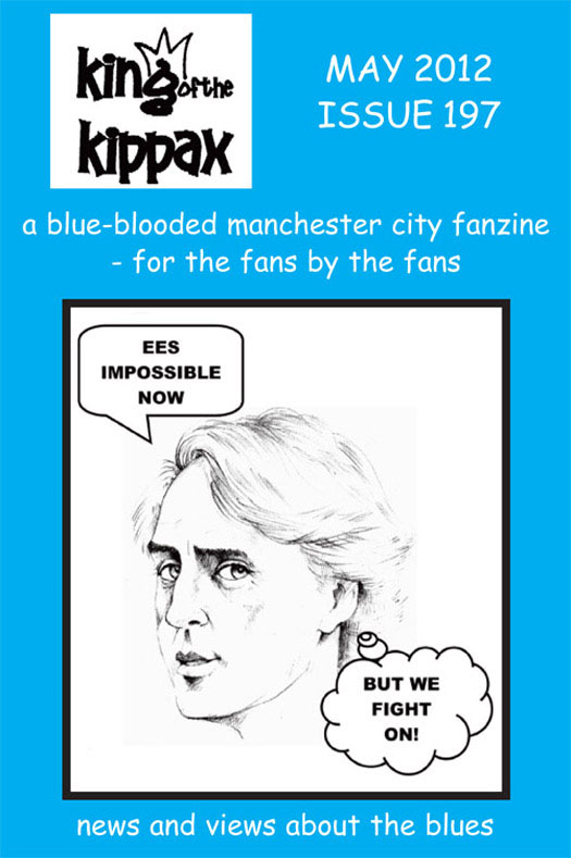 King of the Kippax. May 2012. Issue 197