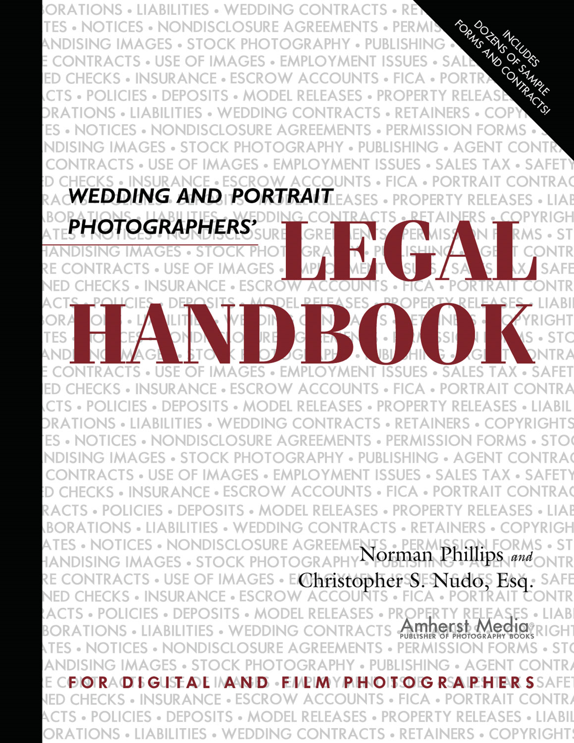 Wedding and Portrait Photographers' Legal Handbook