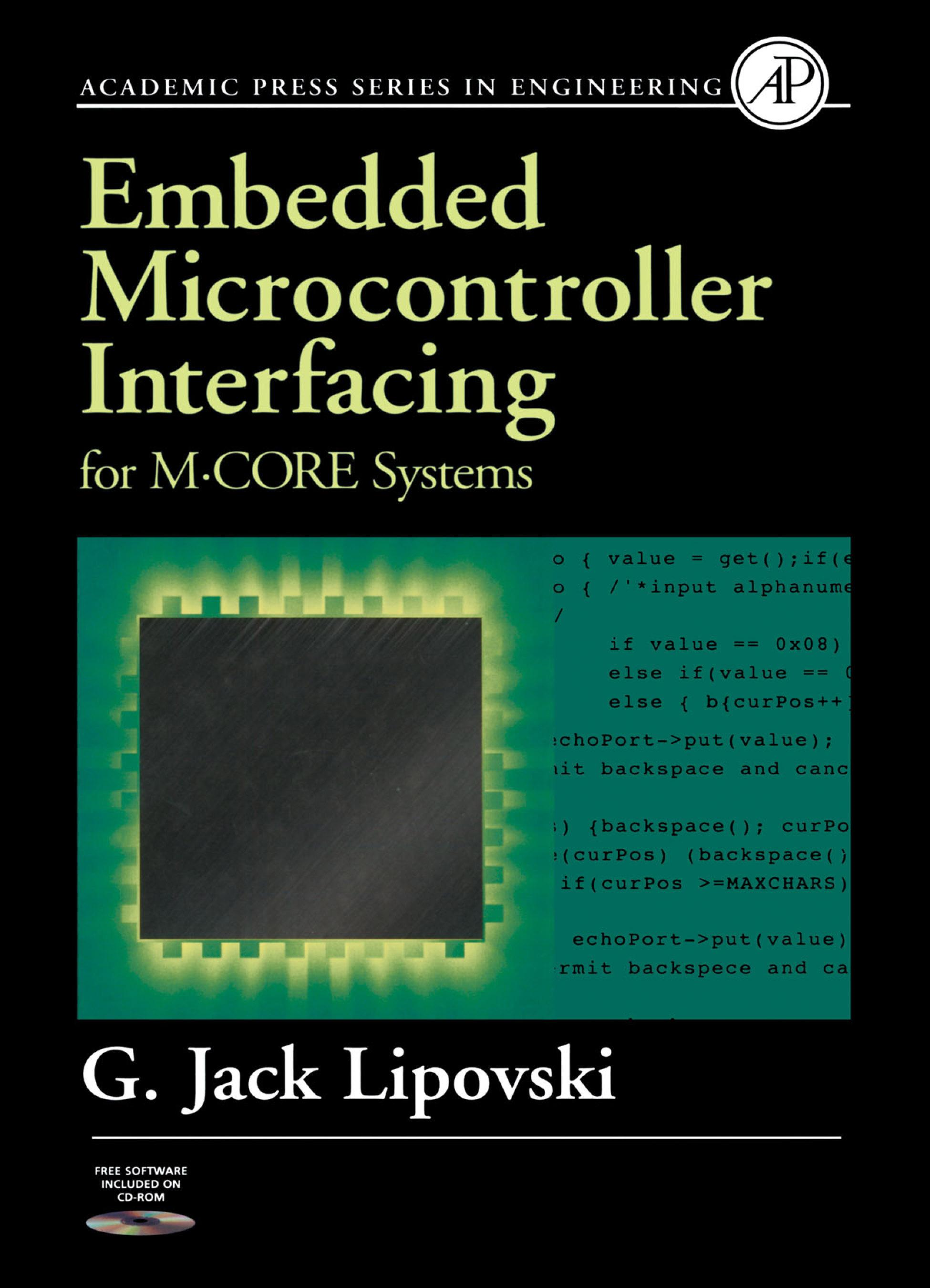 Embedded Microcontroller Interfacing for M-COR � Systems