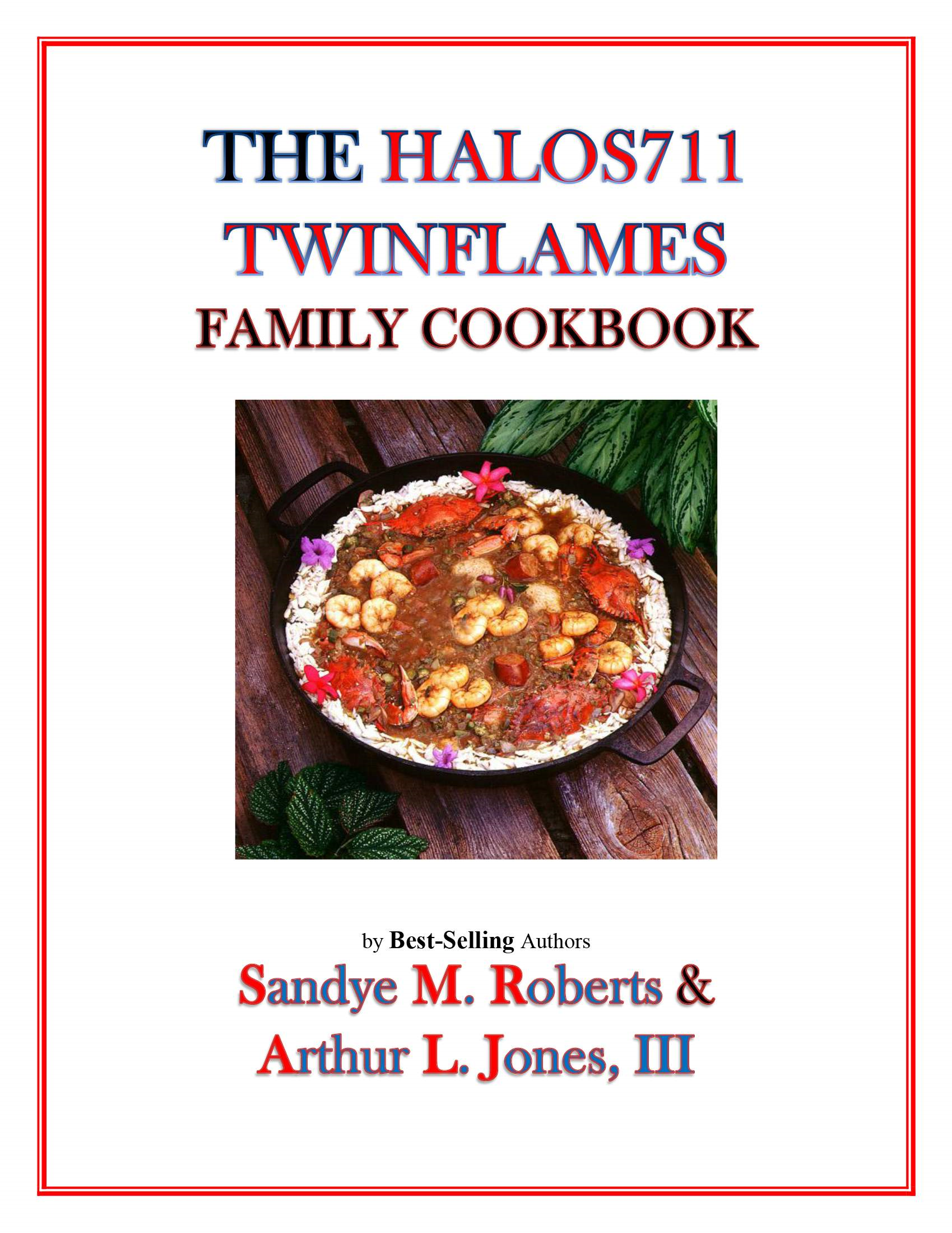 The HALOS711 Twinflames Family Cookbook