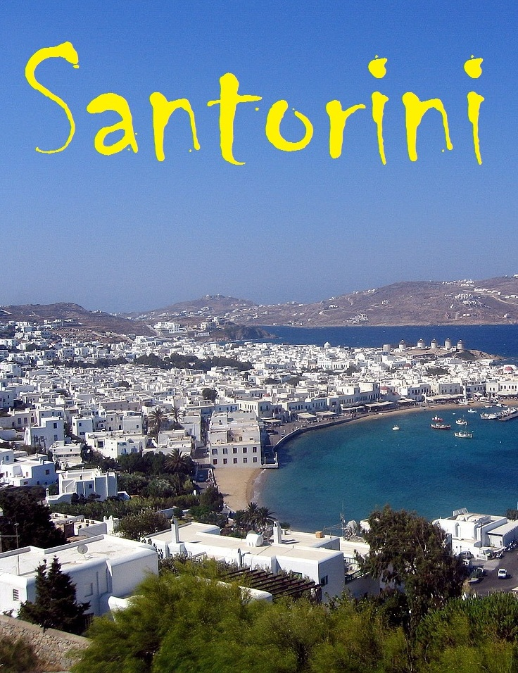 Guide to Santorini By: Euprintpress Publishing