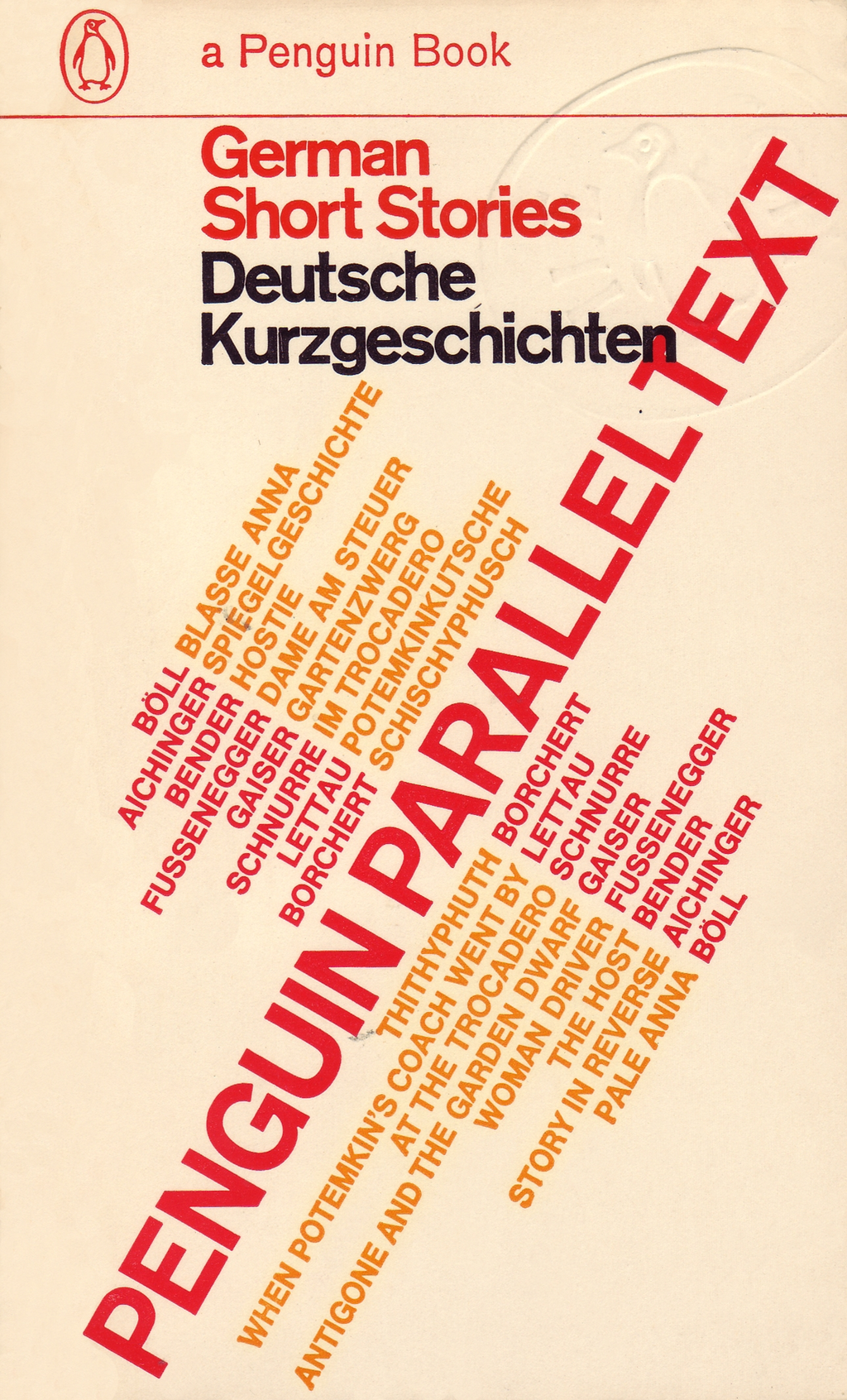 Parallel Text: German Short Stories By: none
