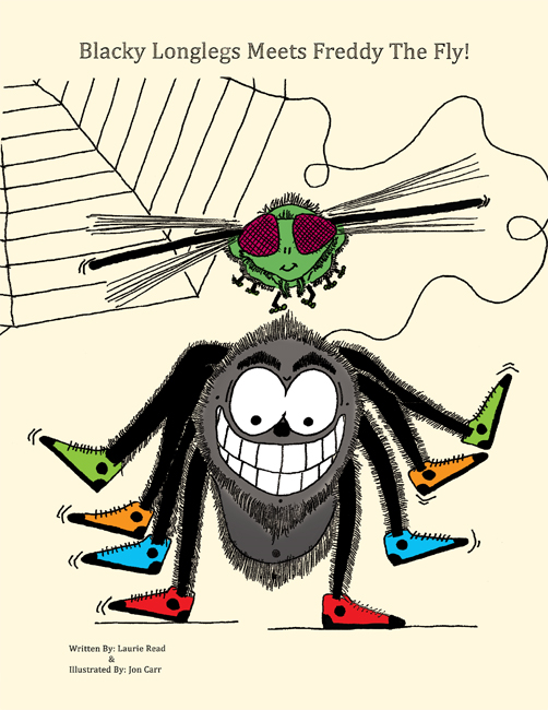 Blacky Longlegs Meets Freddy the Fly