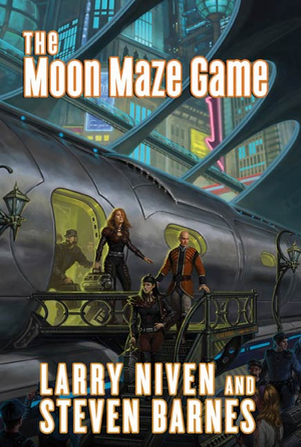 The Moon Maze Game By: Larry Niven,Steven Barnes