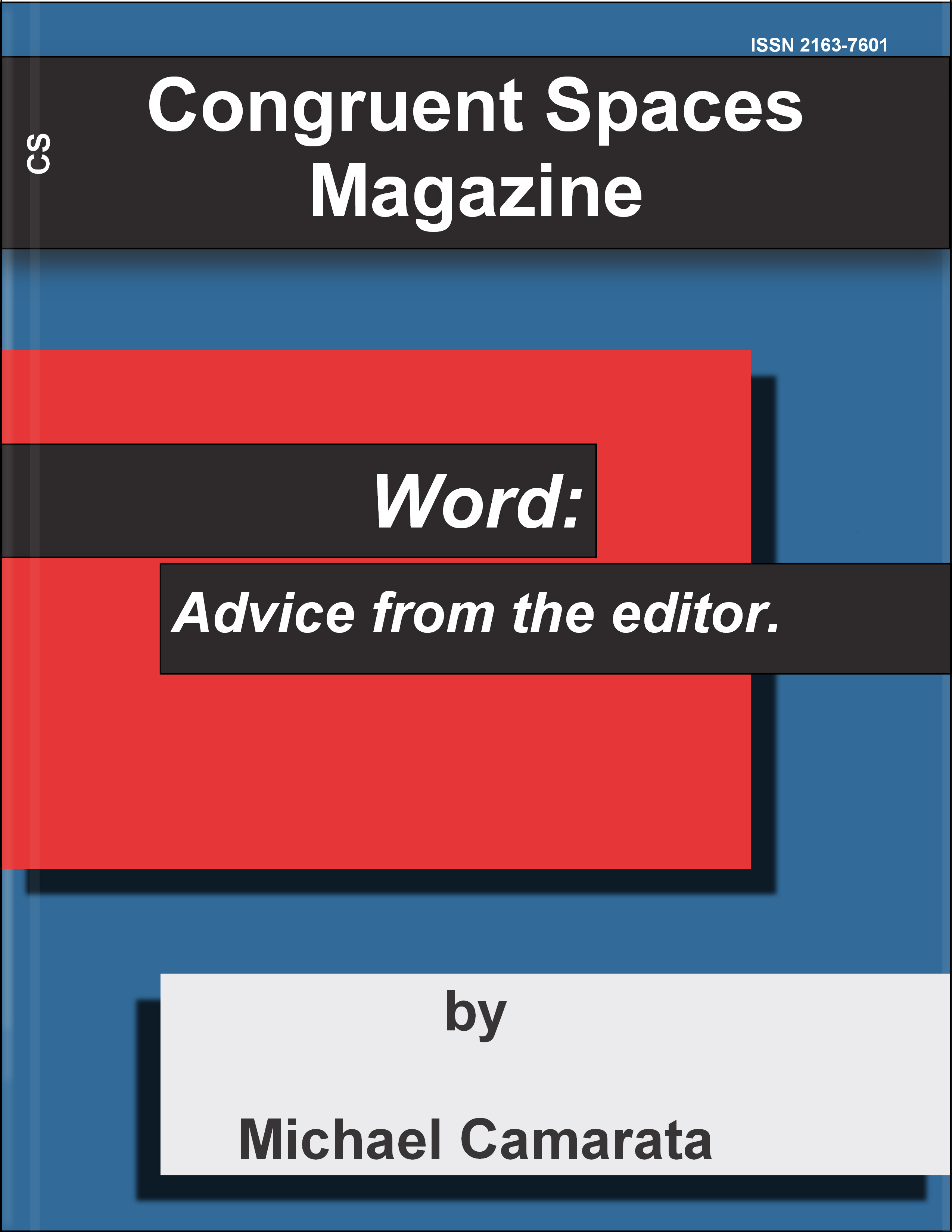Word: Advice From The Editor