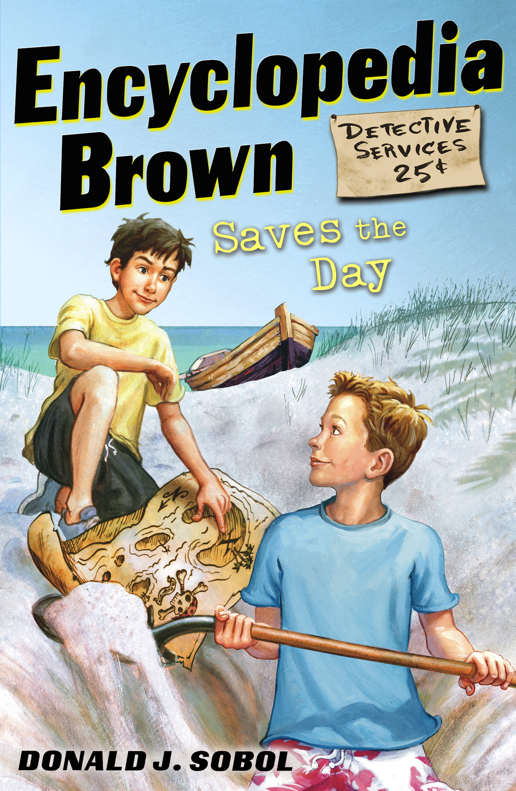 Encyclopedia Brown Saves the Day By: Donald J. Sobol