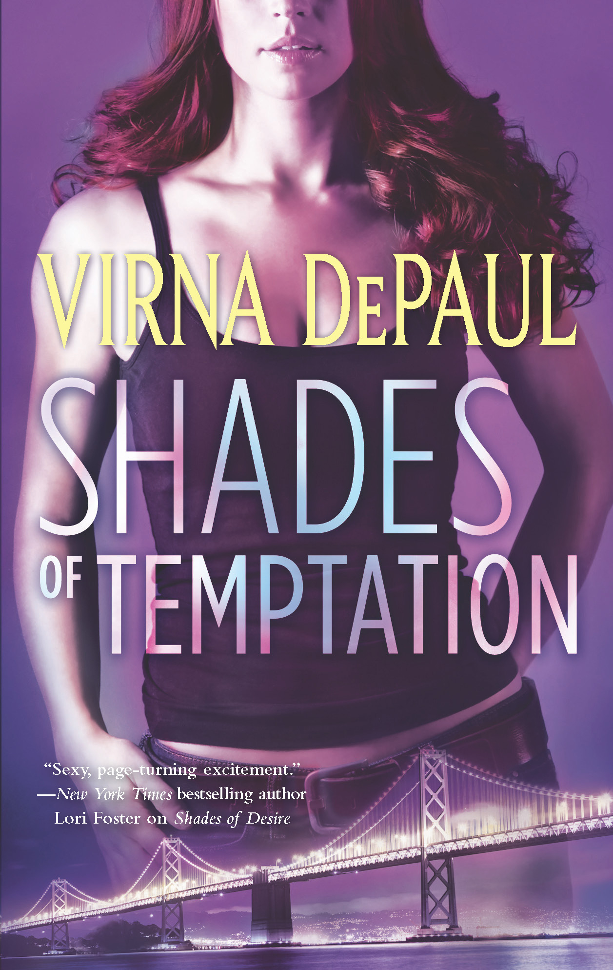 Shades of Temptation By: Virna DePaul