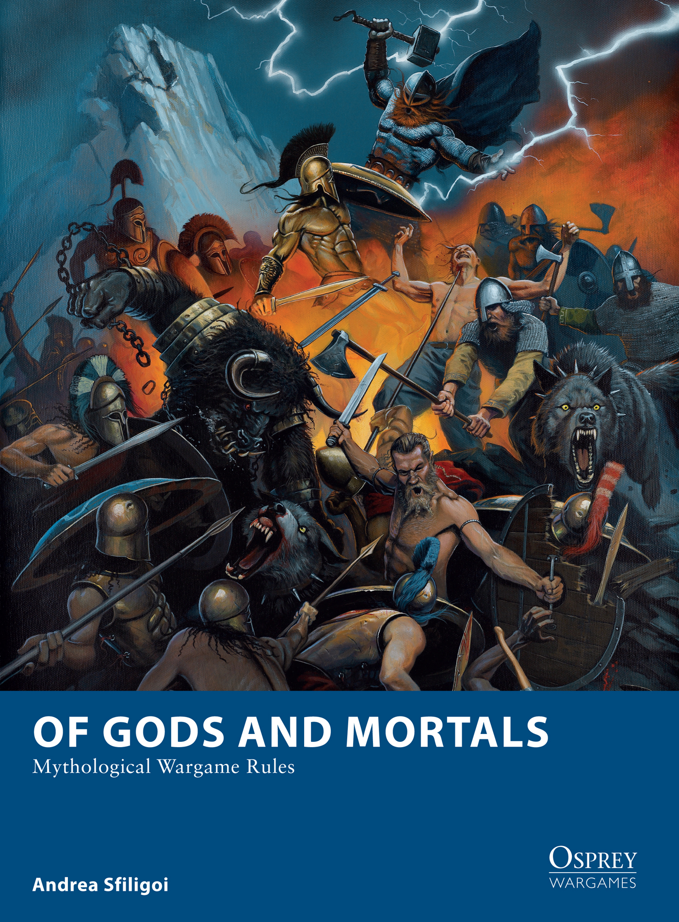 Of Gods and Mortals: Mythological Wargame Rules