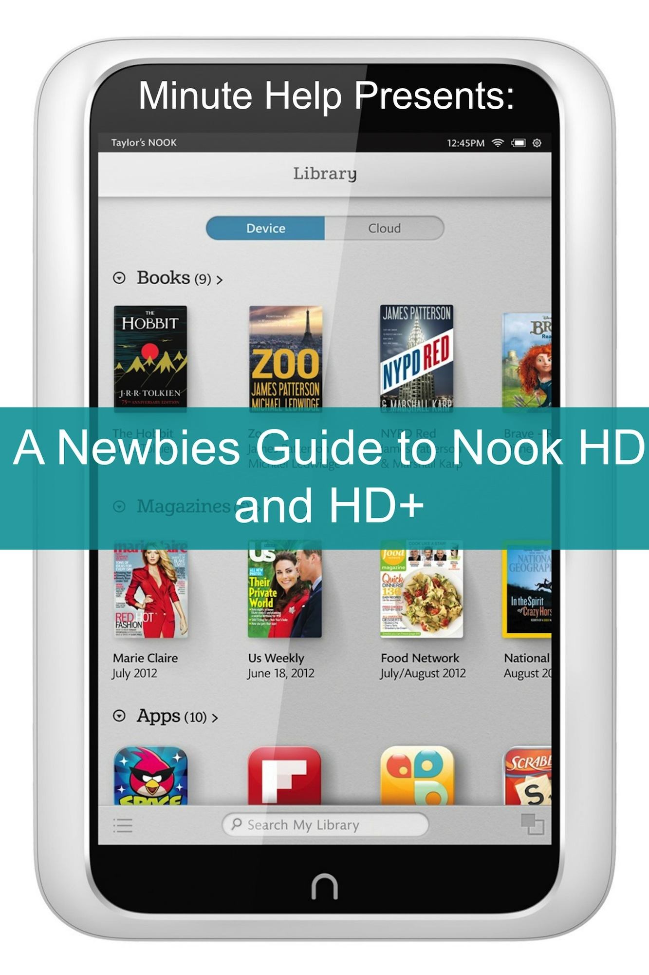 A Newbies Guide to Nook HD and HD+