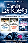 Camilla Lackberg Crime Thrillers 4-6: The Stranger, The Hidden Child, The Drowning: