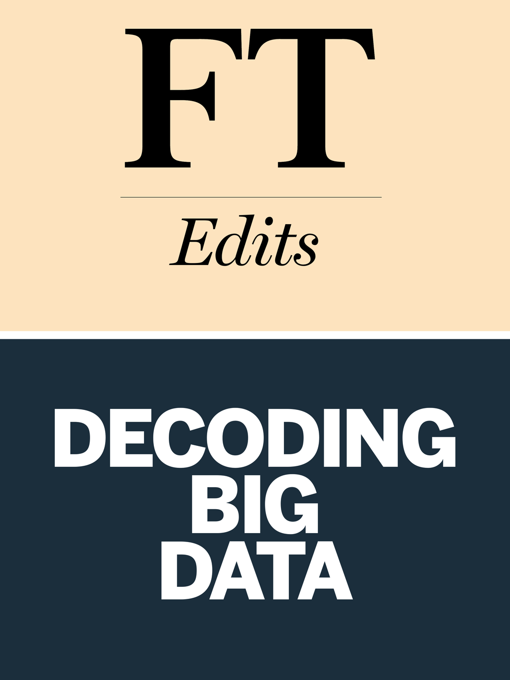 Decoding Big Data