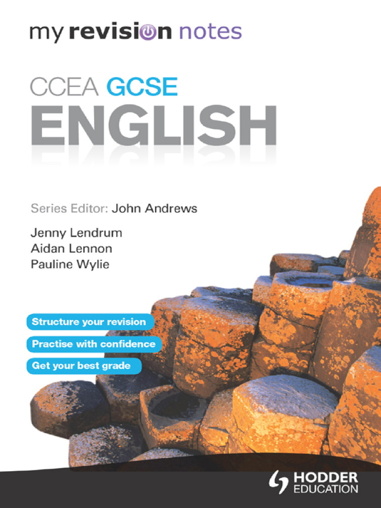 My Revision Notes: GCSE English for CCEA Revision