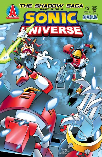 Sonic Universe #3 By: Ian Flynn, Tracy Yardley!