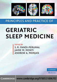 Principles and Practice of Geriatric Sleep Medicine By: Pandi-Perumal, S. R.