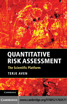 Quantitative Risk Assessment By: Aven, Terje