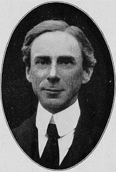 Bertrand Russell: seven books in a single file