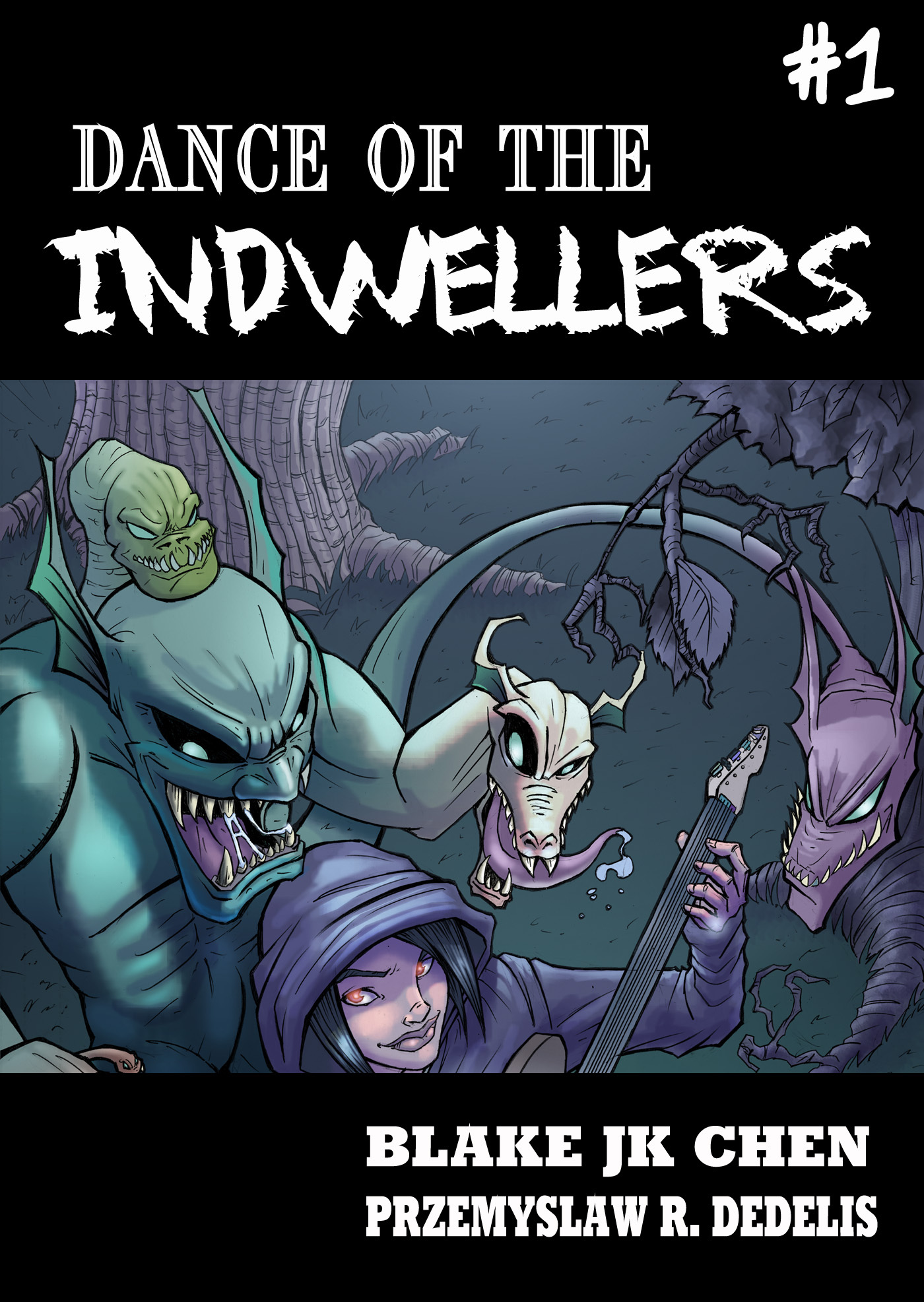 Dance of the Indwellers #1 (Paranormal Fantasy Manga Comic)