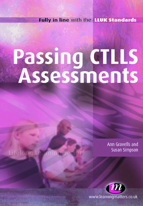 Passing CTLLS Assessments